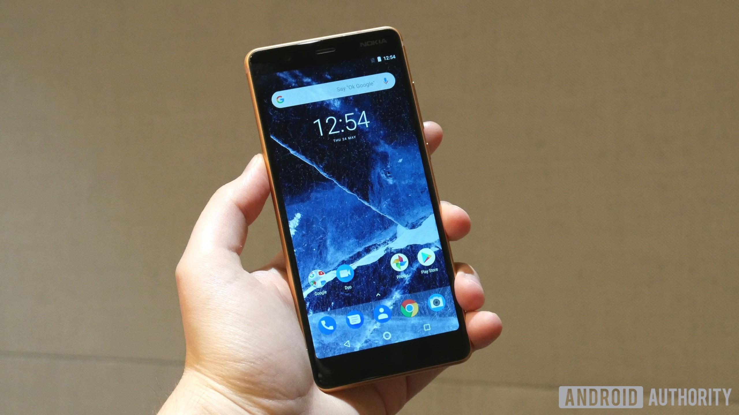 Nokia 5.1 smartphone