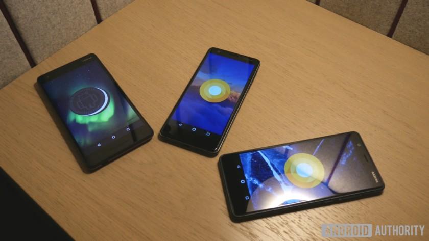 hands-on with Nokia 2.1, Nokia 3.1, Nokia 5.1 smartphones
