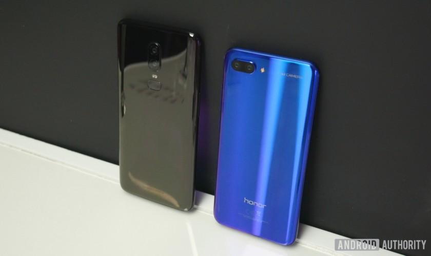 Honor 10 vs OnePlus 6