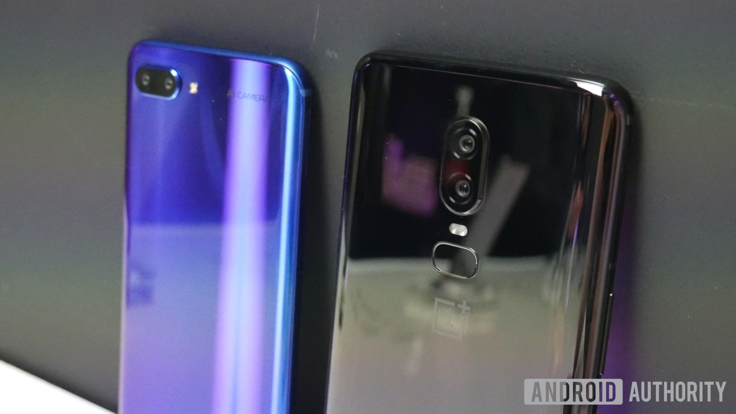 OnePlus 6 vs Honor 10
