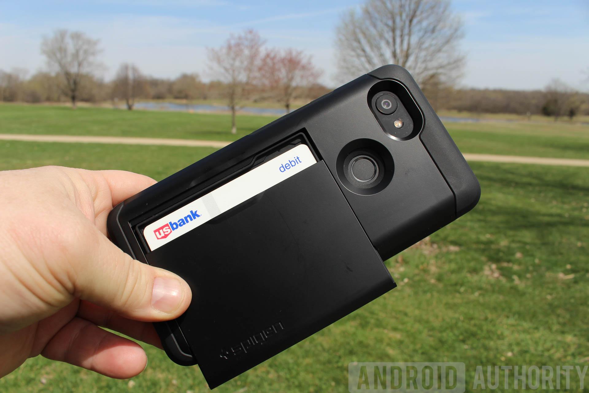 Pixel 2XL cases - Spigen wallet