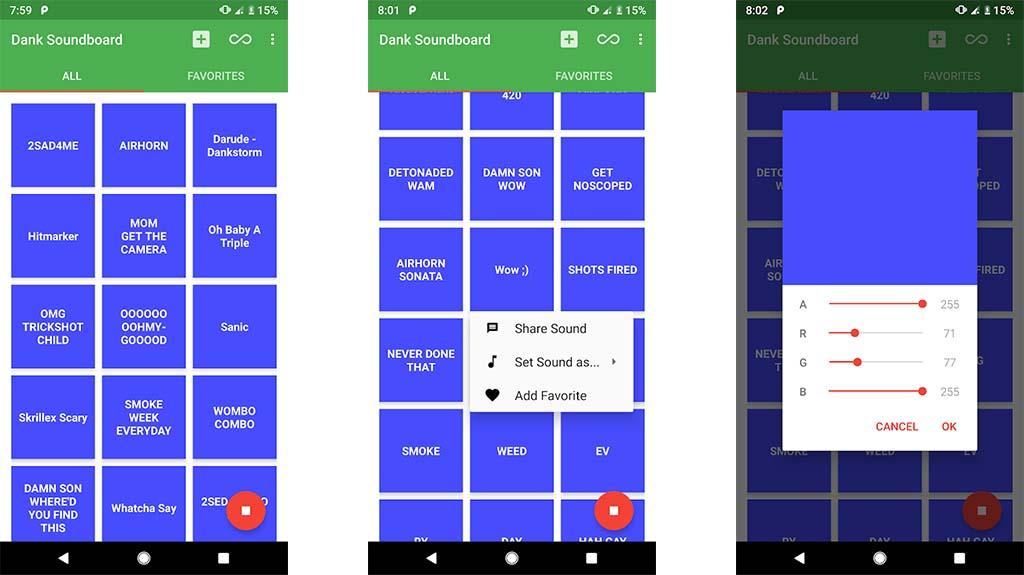 Dank Soundboard - best sound apps for android