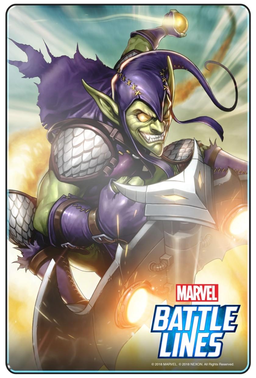 Marvel battle lines green goblin