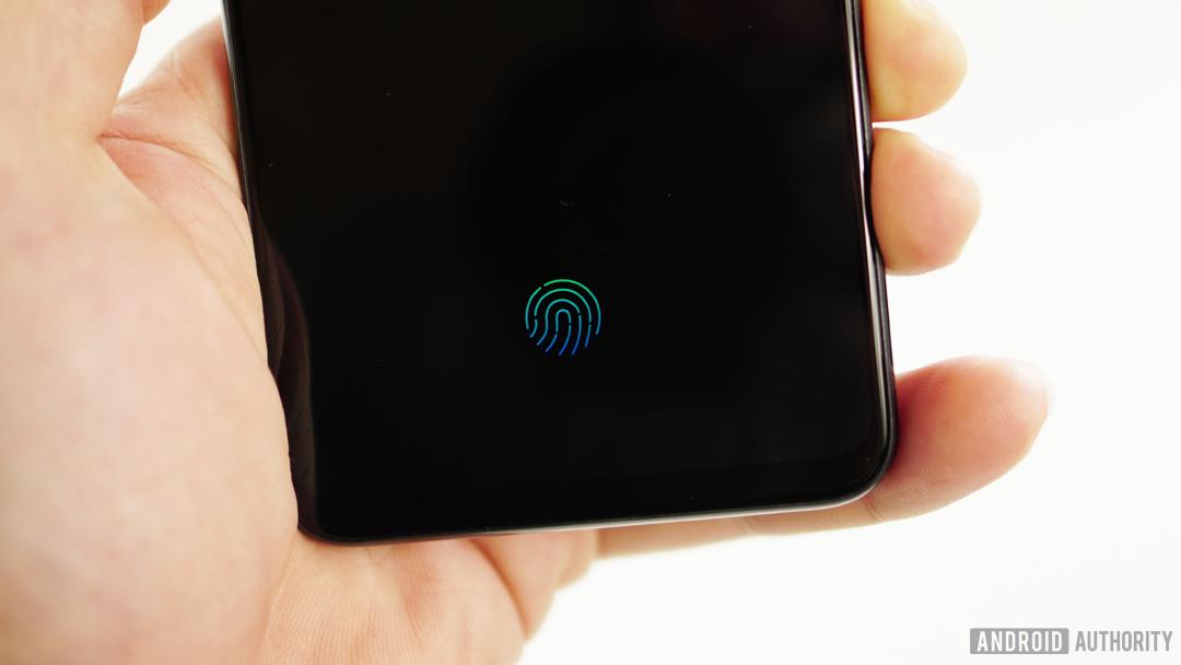 Vivo Nex fingerprint scanner