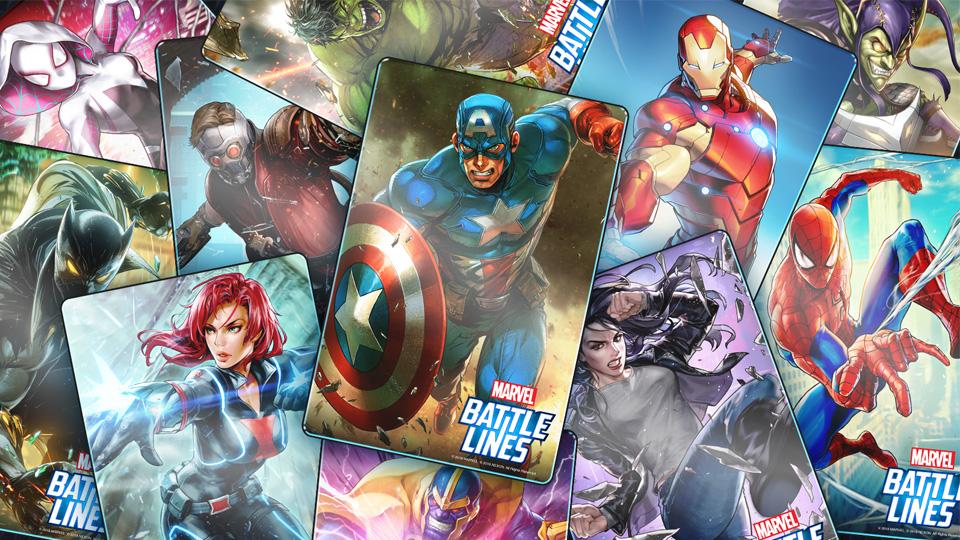 marvel battle lines nexon card game