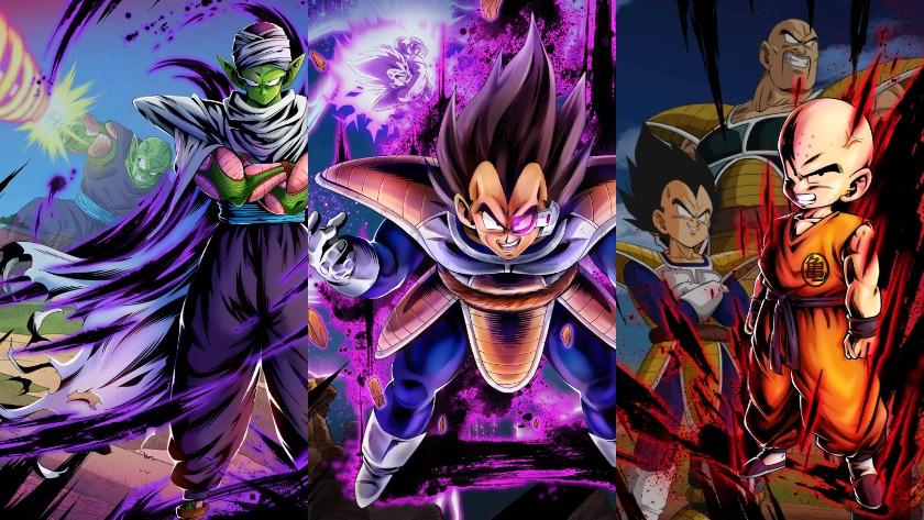 Dragon Ball Legends character portraits