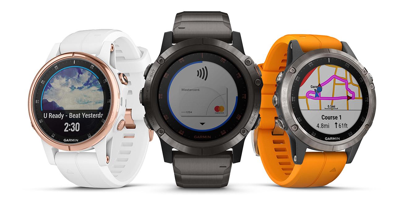 garmin fenix 5 plus family gps running watches