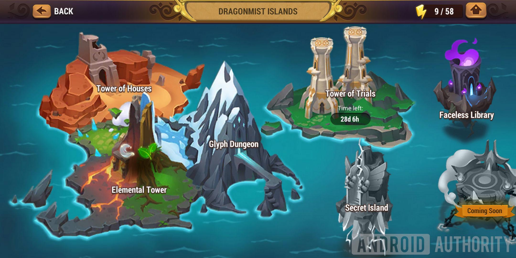 might & magic elemental guardians dragonmist islands pve