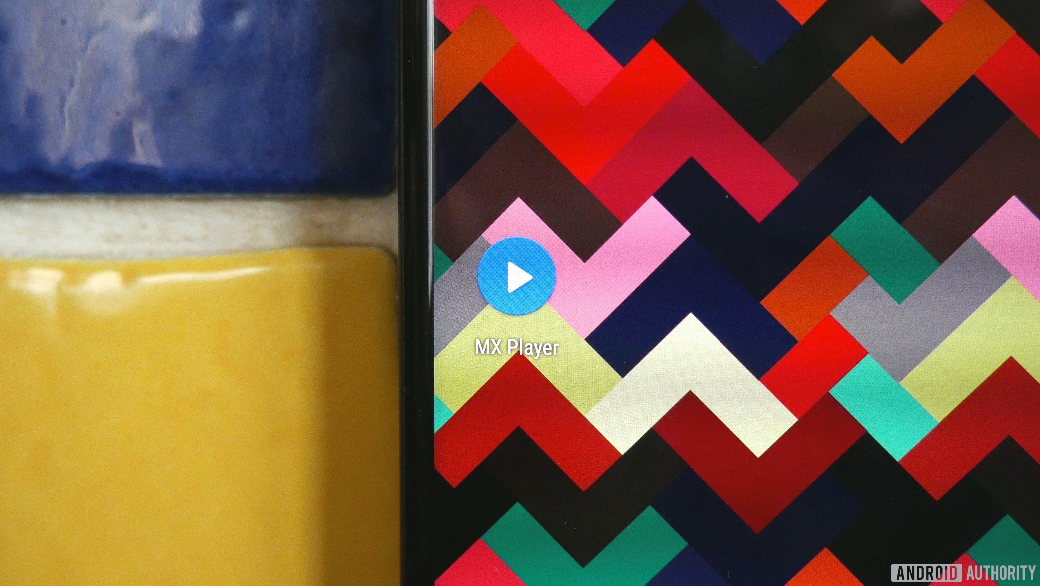 MX Player app on a Google Pixel 2 XL phone