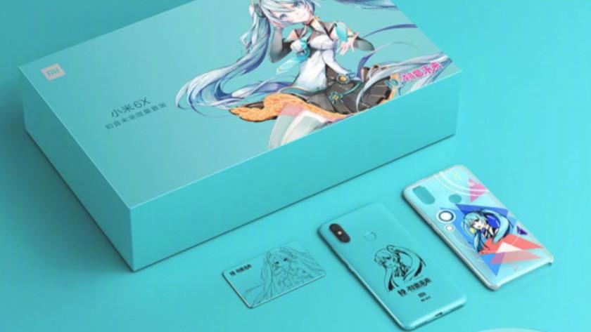 Promo image of Xiaomi Mi 6X Hatsune Miku edition