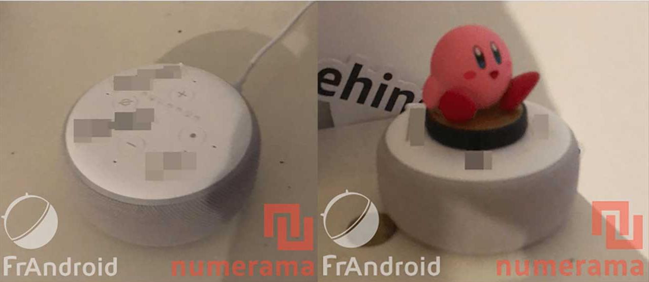 Amazon Echo Dot 3 leak