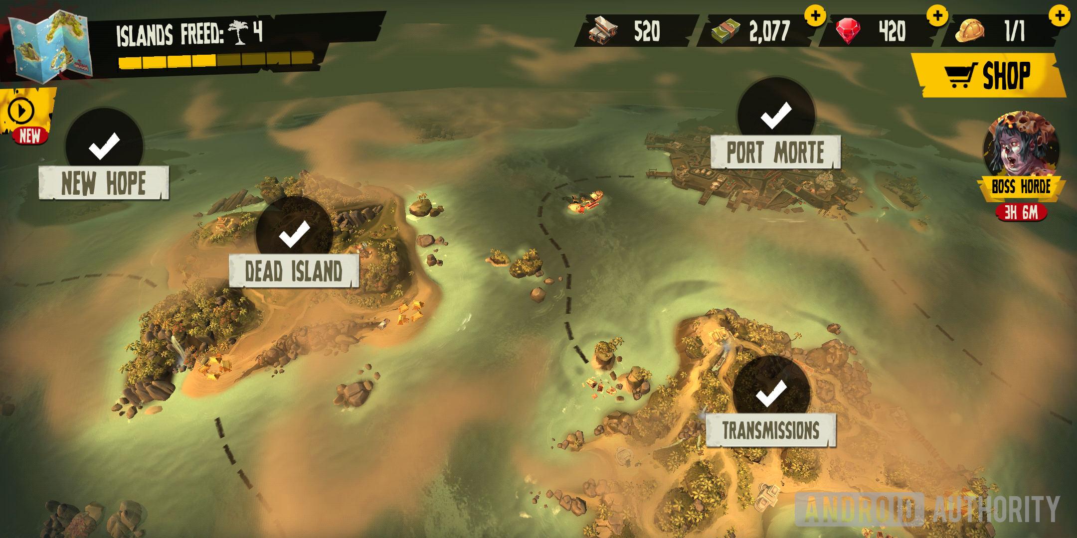 Dead Island Map on