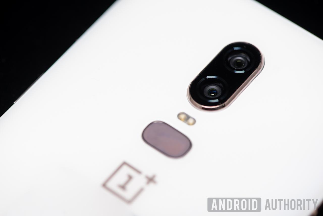 oneplus 6 camera sensors back fingerprint sensor