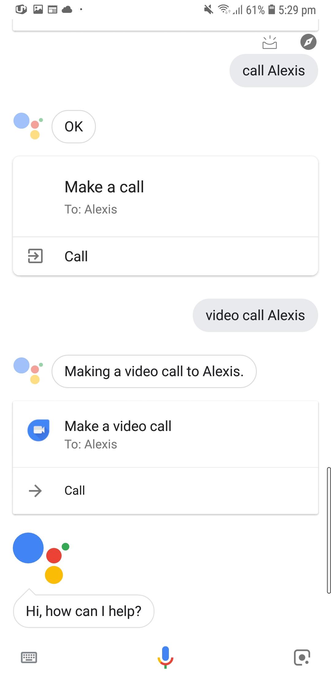 Google Assistant Duo integration