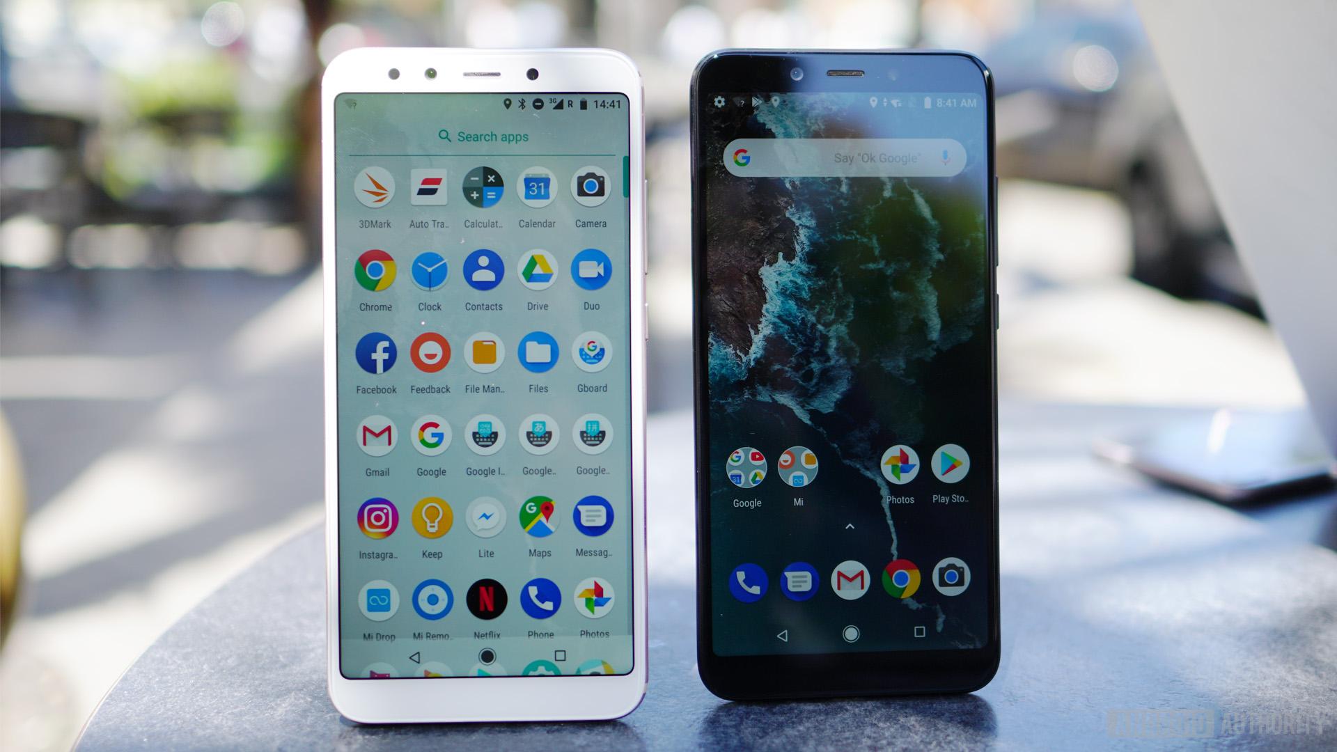 Xiaomi Mi A2 home screen