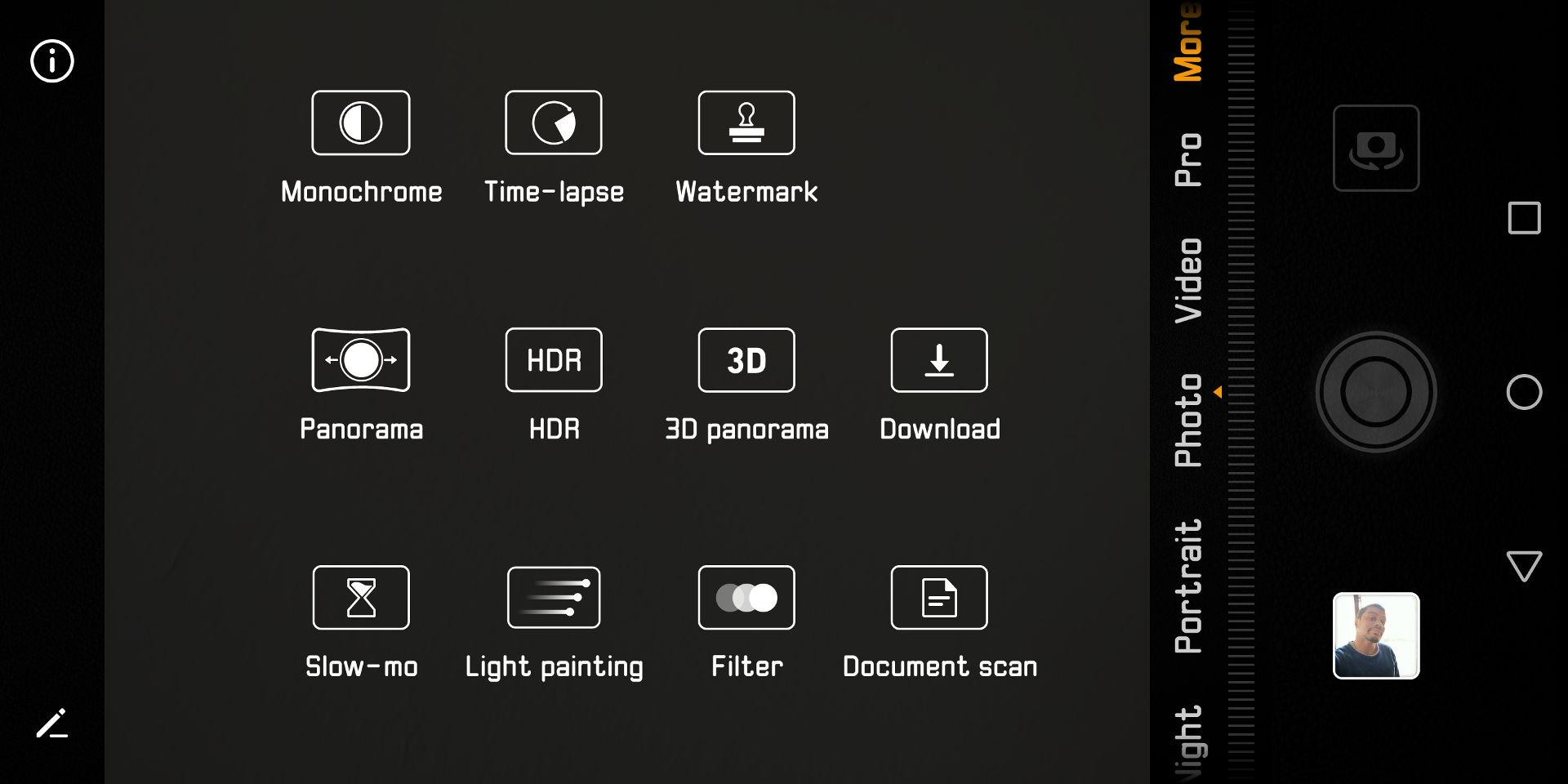 The Huawei camera app.
