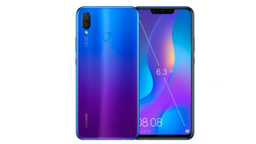 The Huawei Nova 3i.