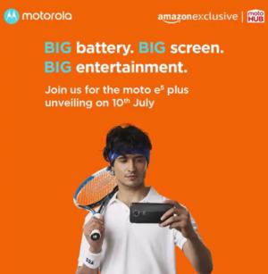 Moto E5 Plus India launch save the date