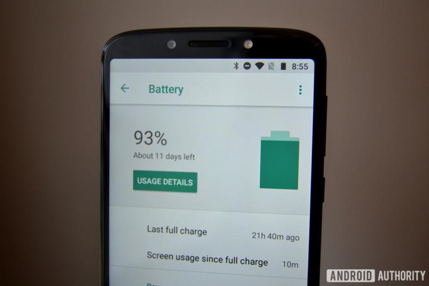 ] Motorola Moto G6 Play Review Software battery