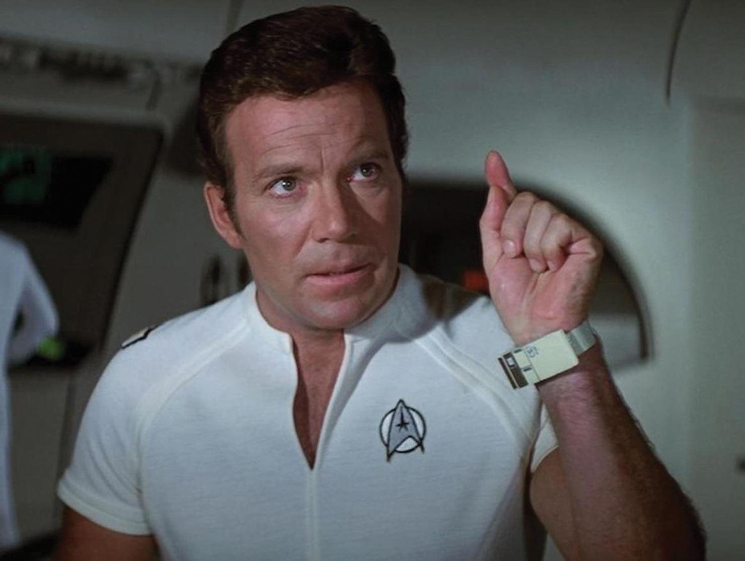 Captain Kirk wearable in Star Trek