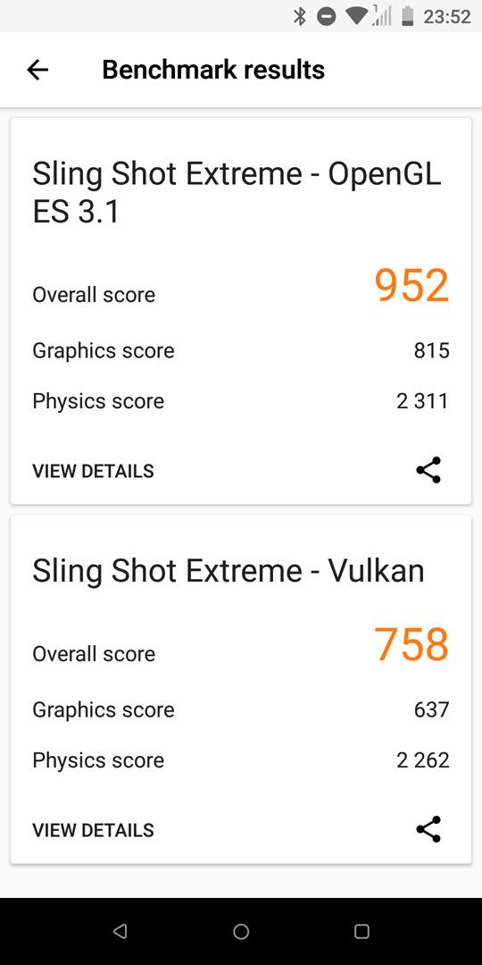 HTC U12 Life 3DMark benchmark
