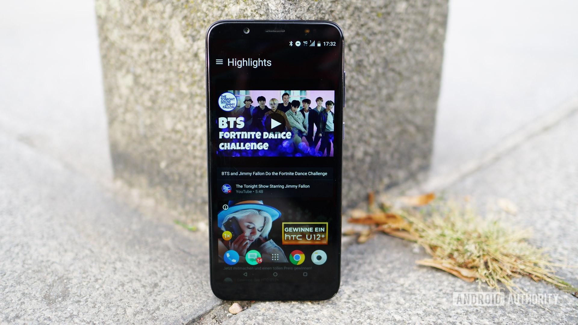 HTC U12 Life Blinkfeed