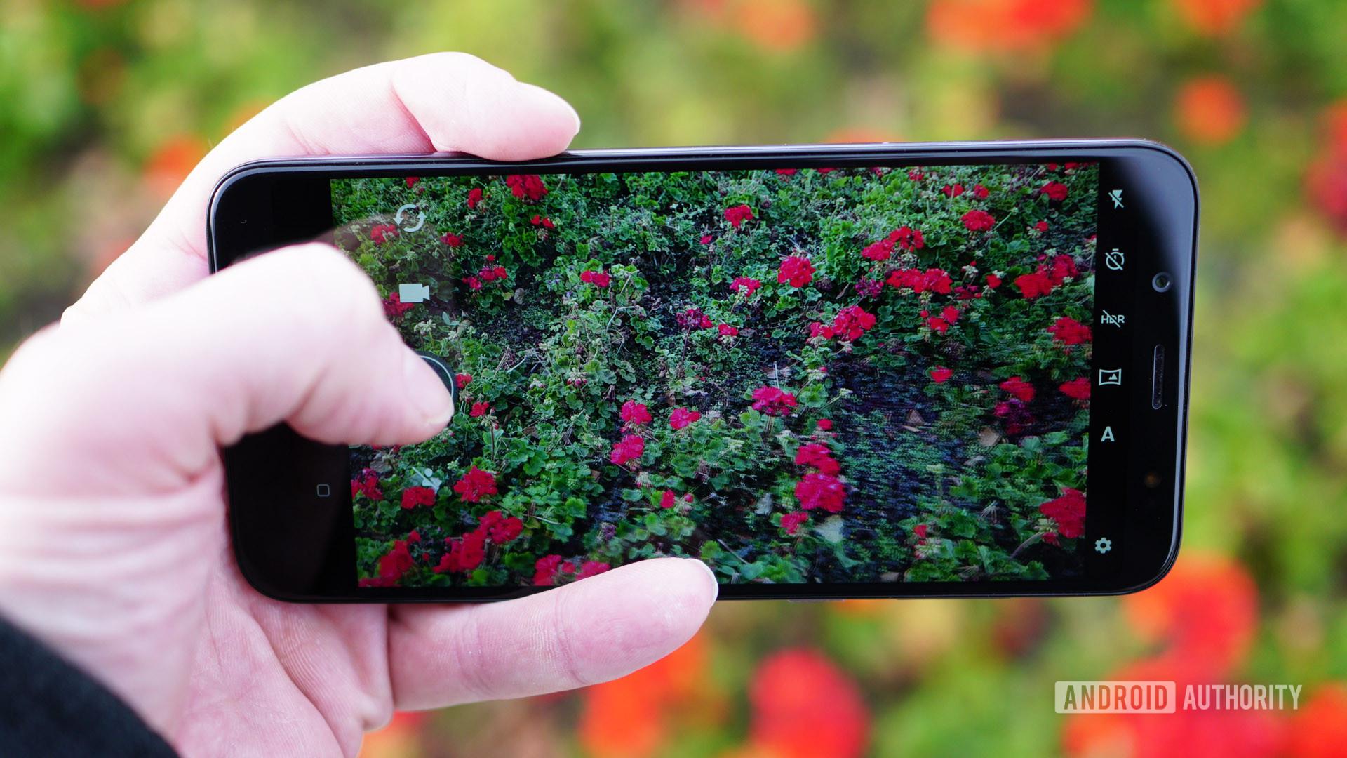 HTC U12 Life camera app
