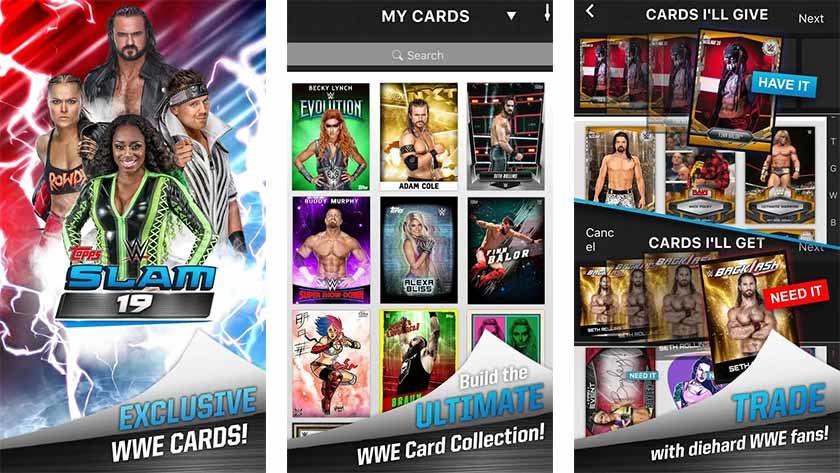 WWE Slam - best WWE apps and WWE games