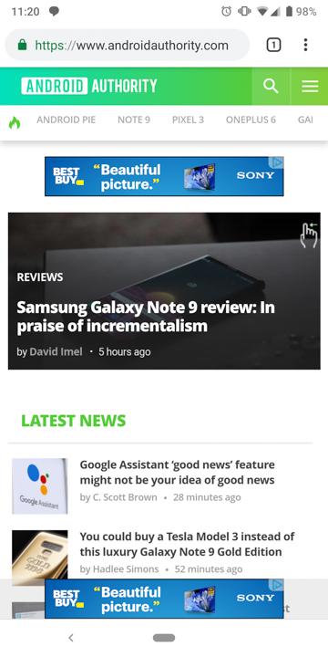 Google Chrome New Tab Page Design Theme