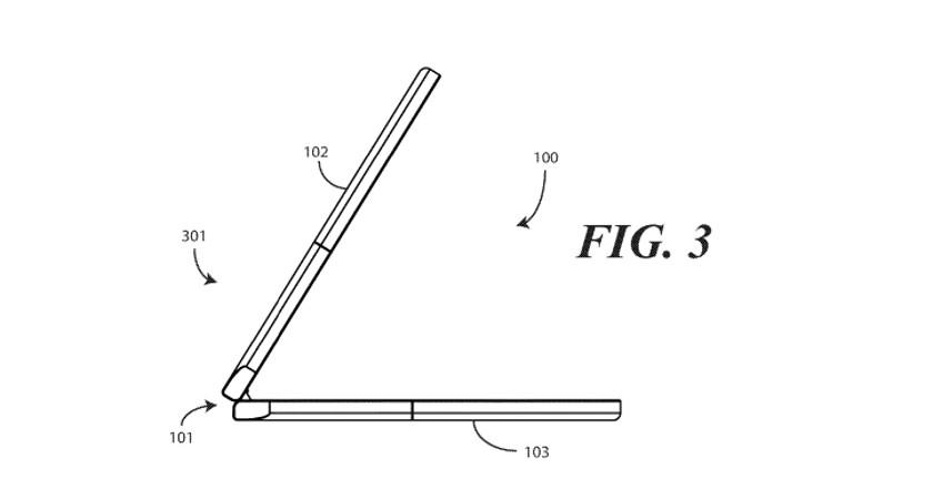 A flexible phone design by Motorola.