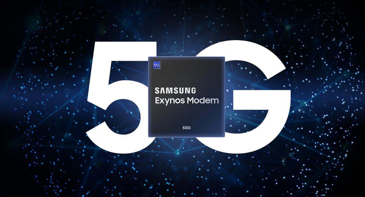 Samsung's new 5G modem.