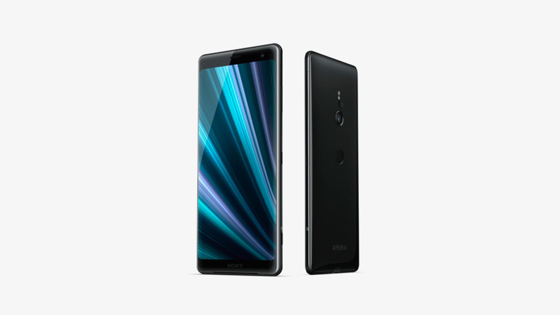Sony Xperia XZ3 Front & Back Black