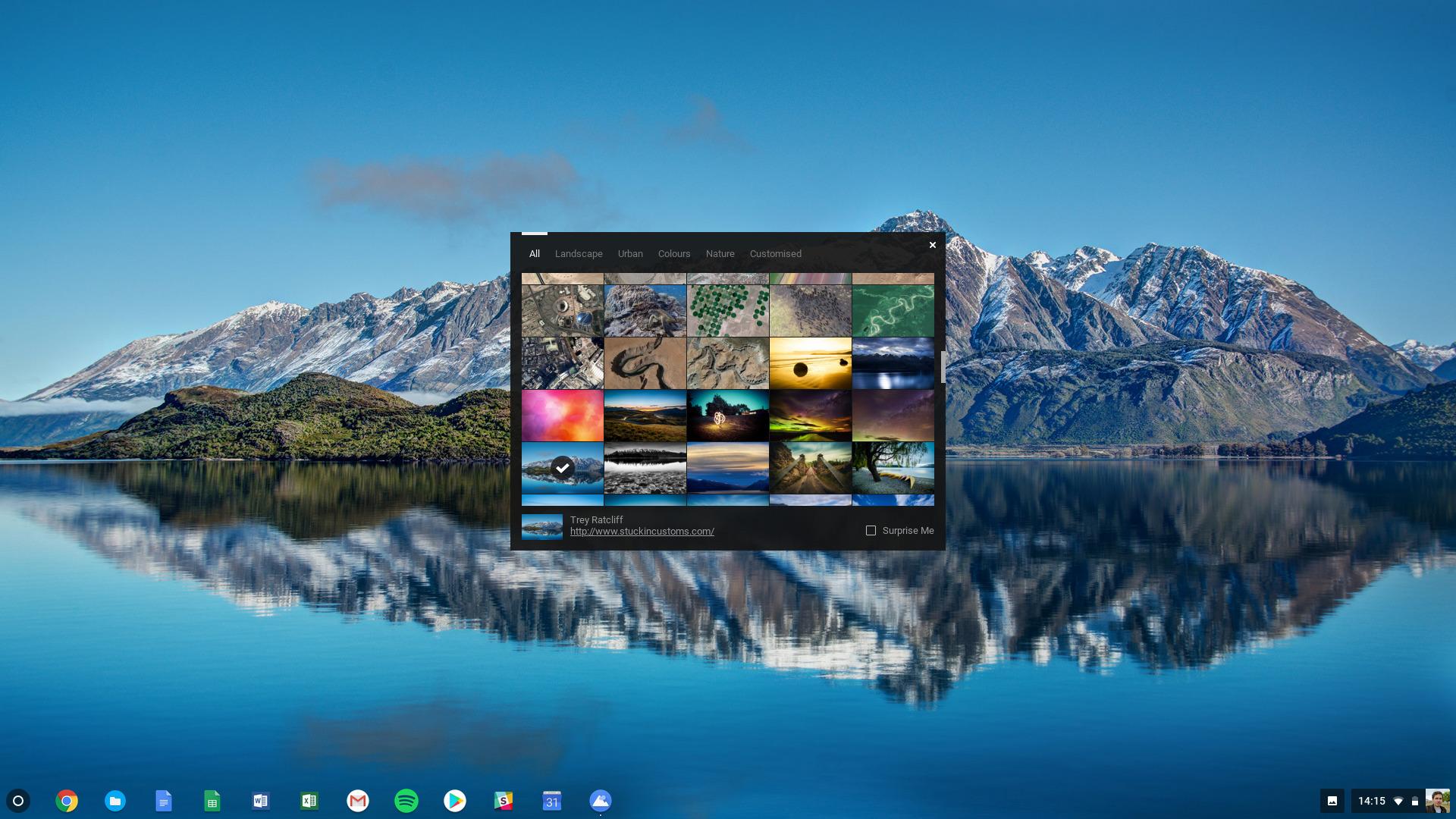 Chromebook wallpaper -- how to change wallpaper on Chromebook
