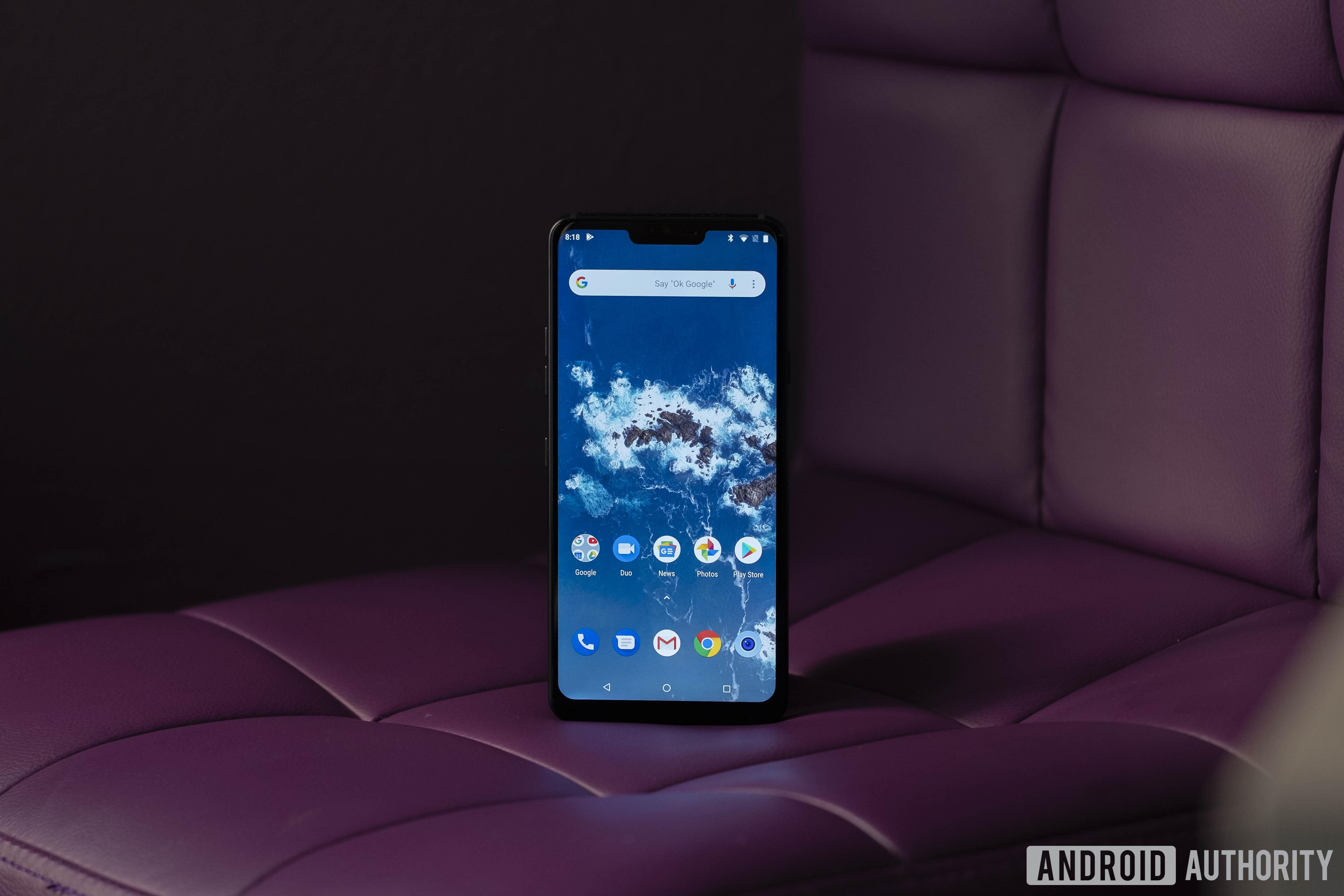 LG G7 One screen