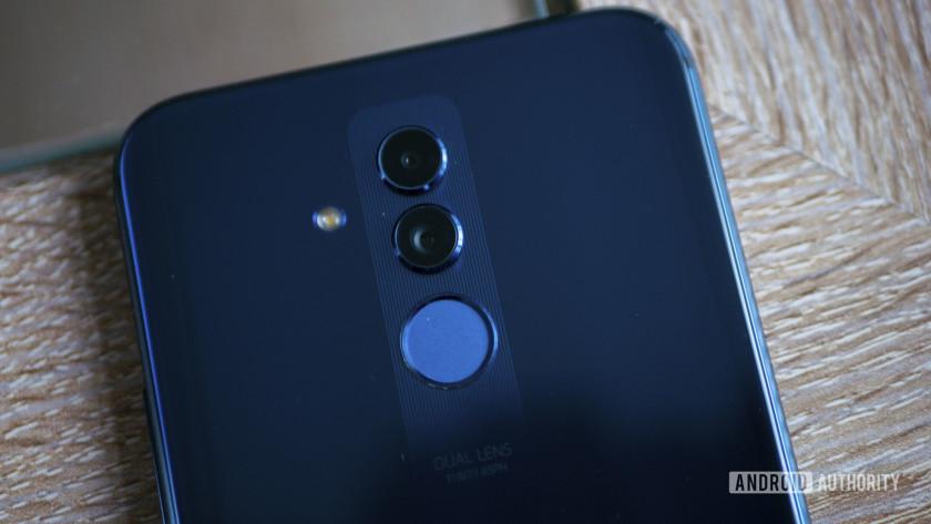 Huawei Mate 20 Lite Back