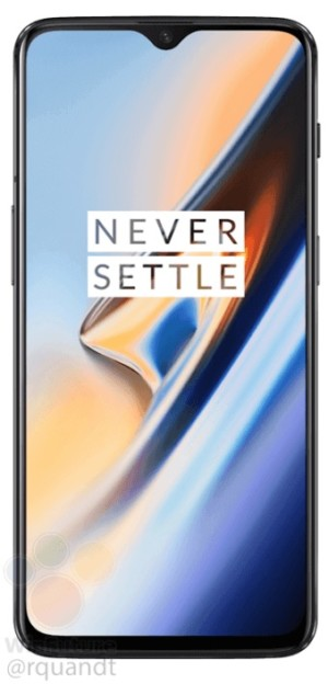 Leaked press images of the OnePlus 6T.