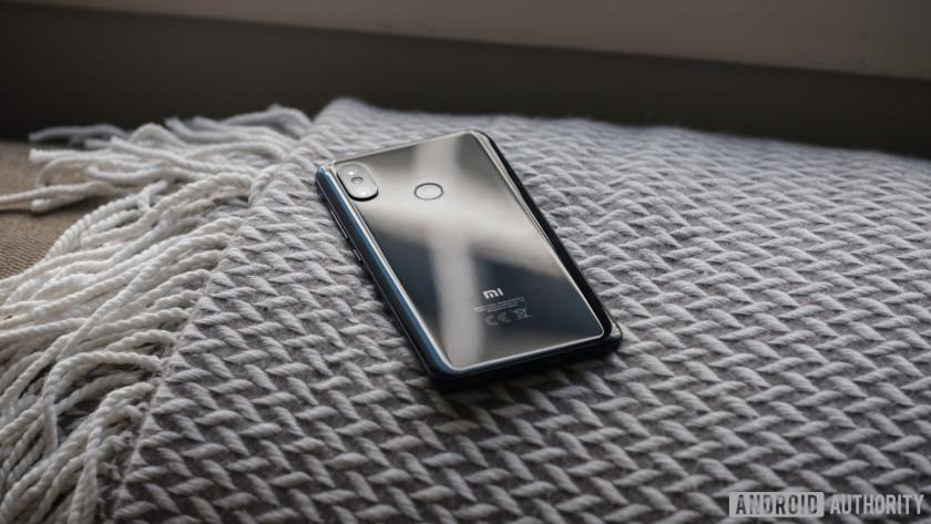 Xiaomi Mi 8 back