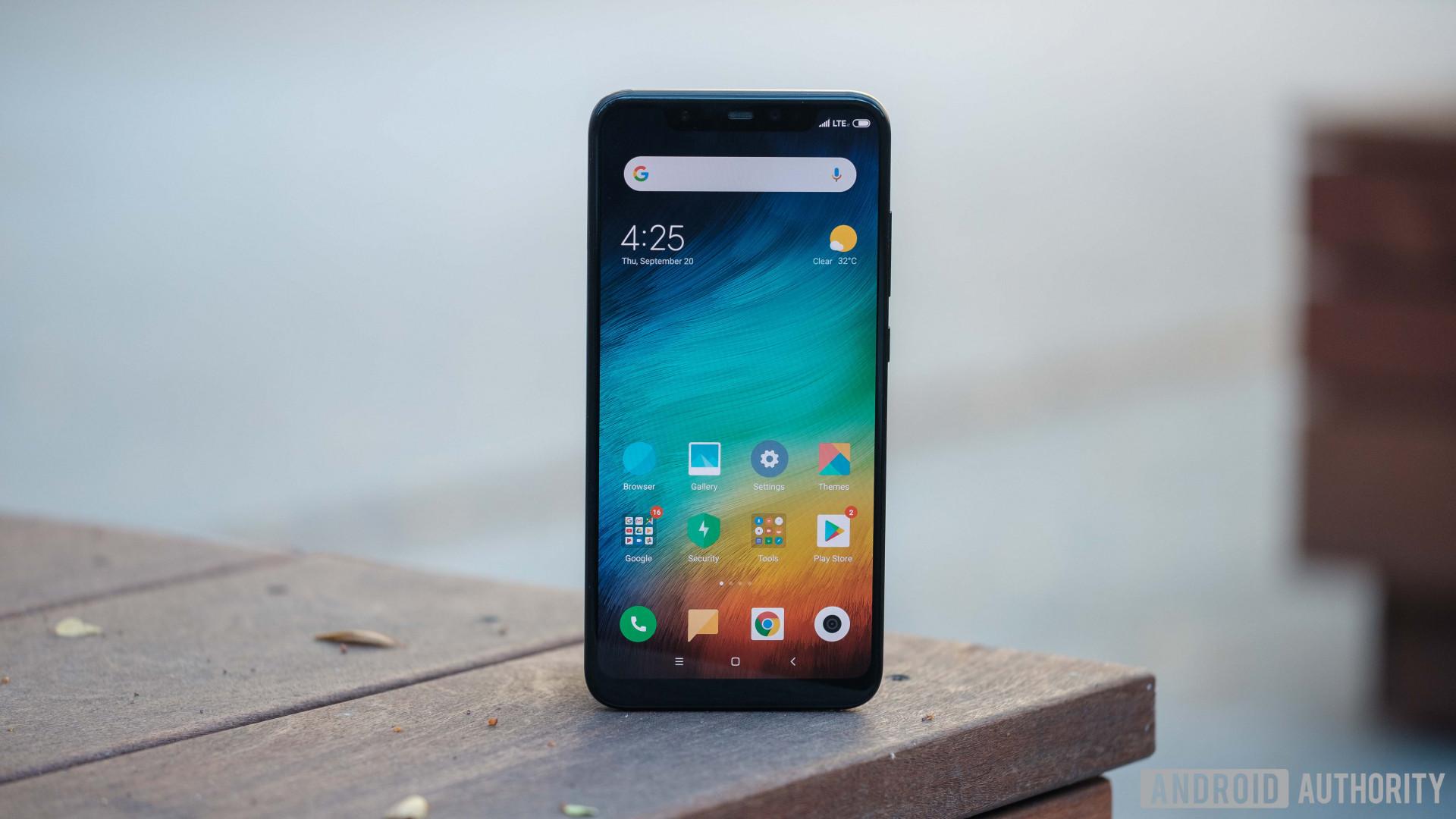 Xiaomi Mi 8 screen
