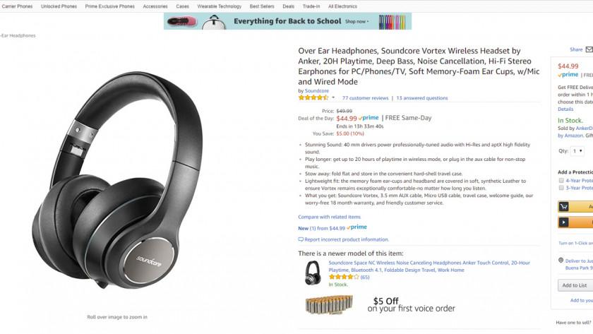 Anker Soundcore Amazon Deal