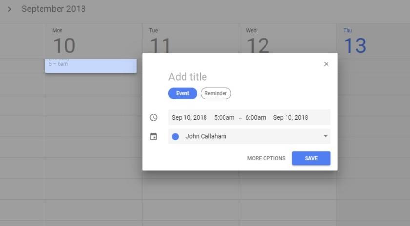 google calendar download per pc