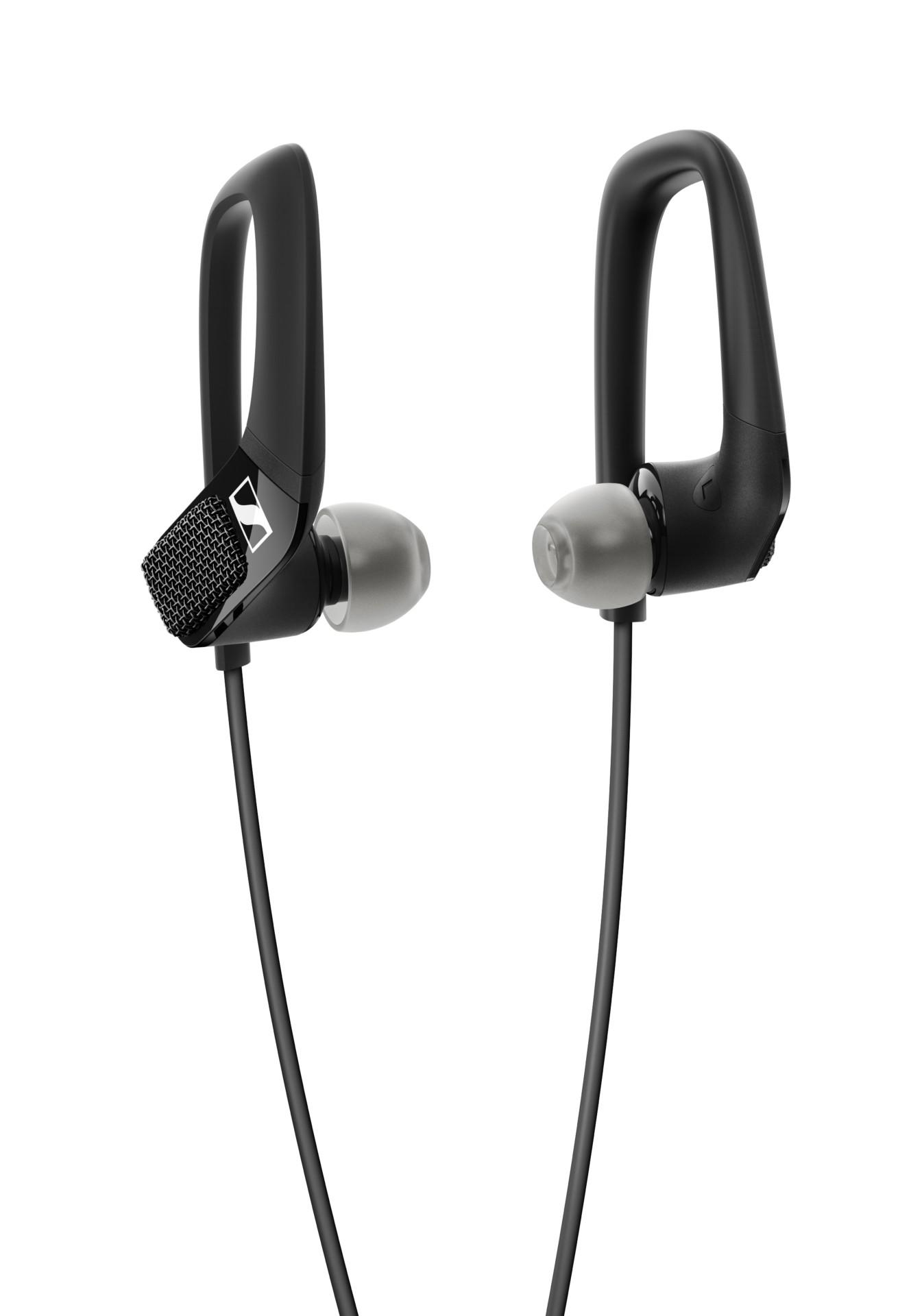 Sennheiser Ambeo AR One earphones product image on white background.