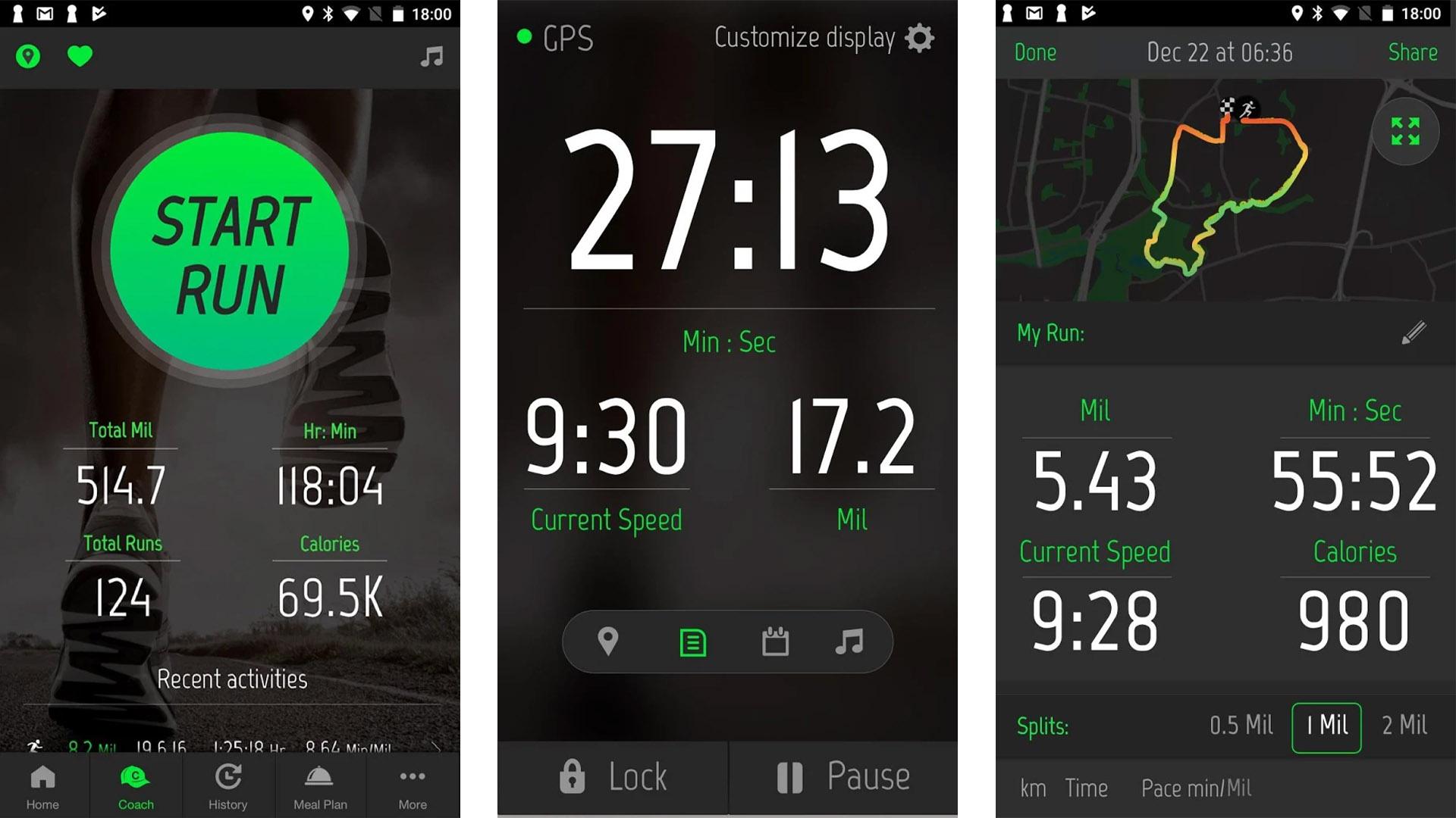 Fitness22 screenshot for the best fitness tracker apps