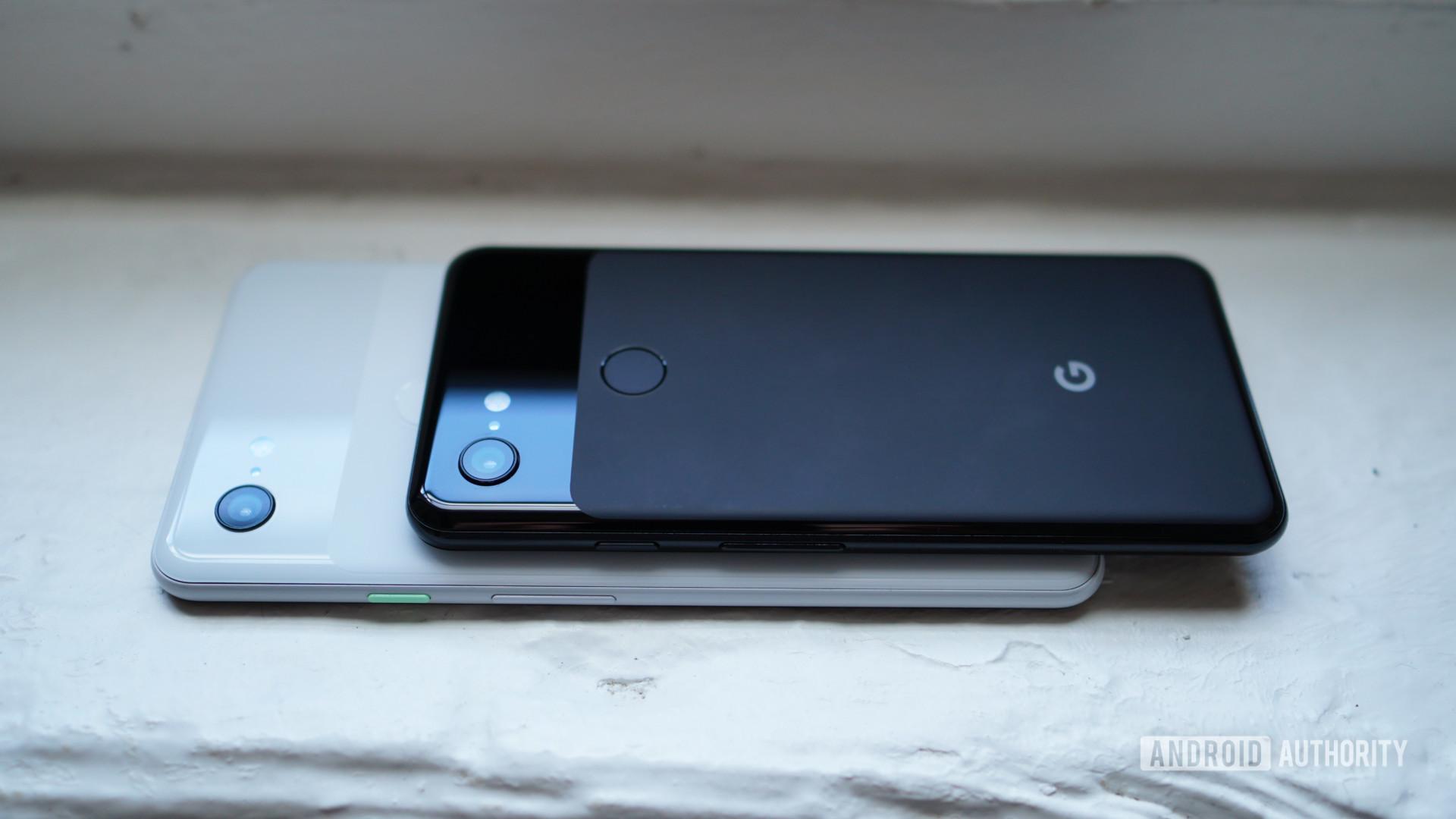 Google Pixel 3 and Pixel 3 XL design