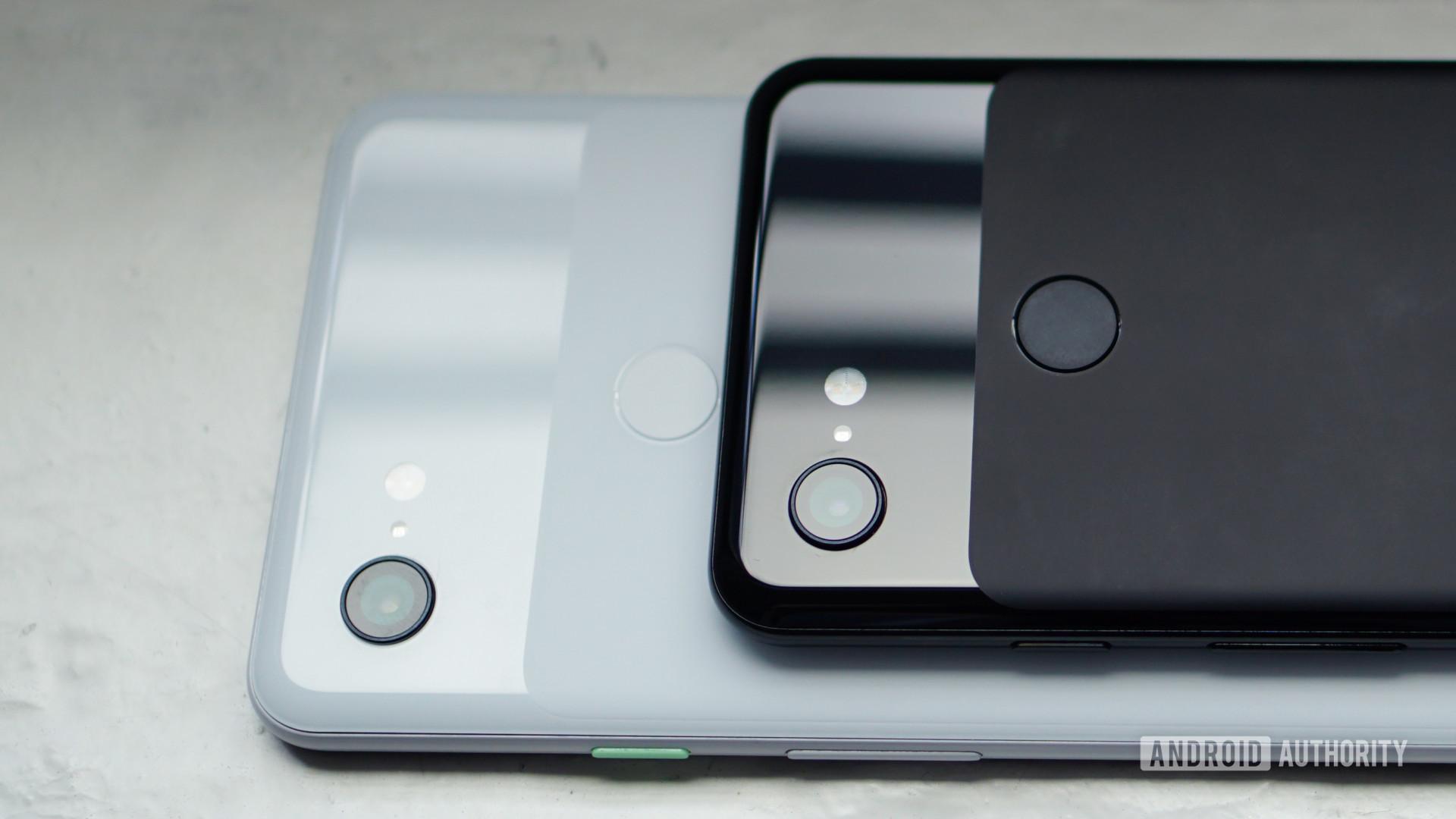 Google Pixel 3 and Pixel 3 XL camera closeup