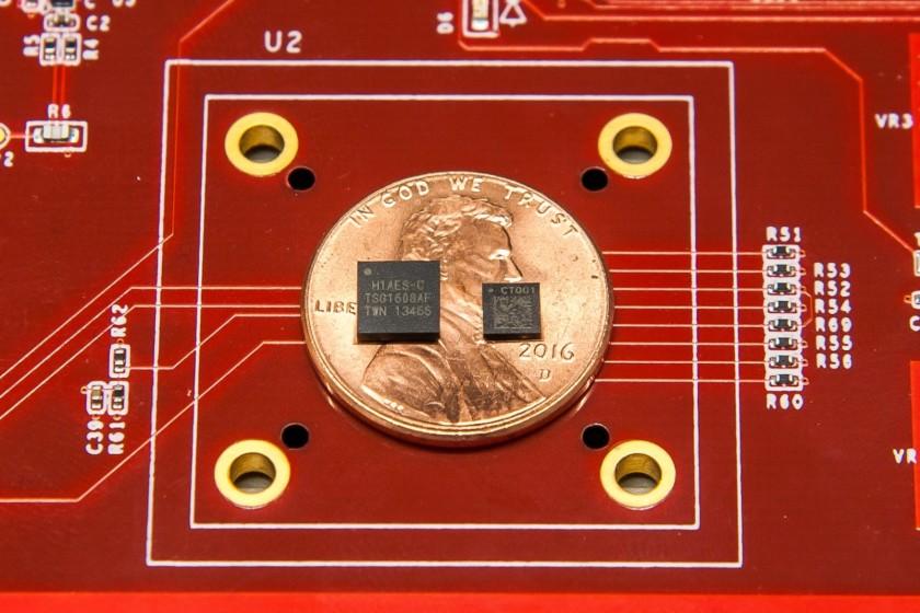 Imagen que muestra el chip de seguridad Titan y Titan M de Google
