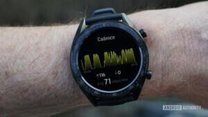 Huawei Watch GT cadence