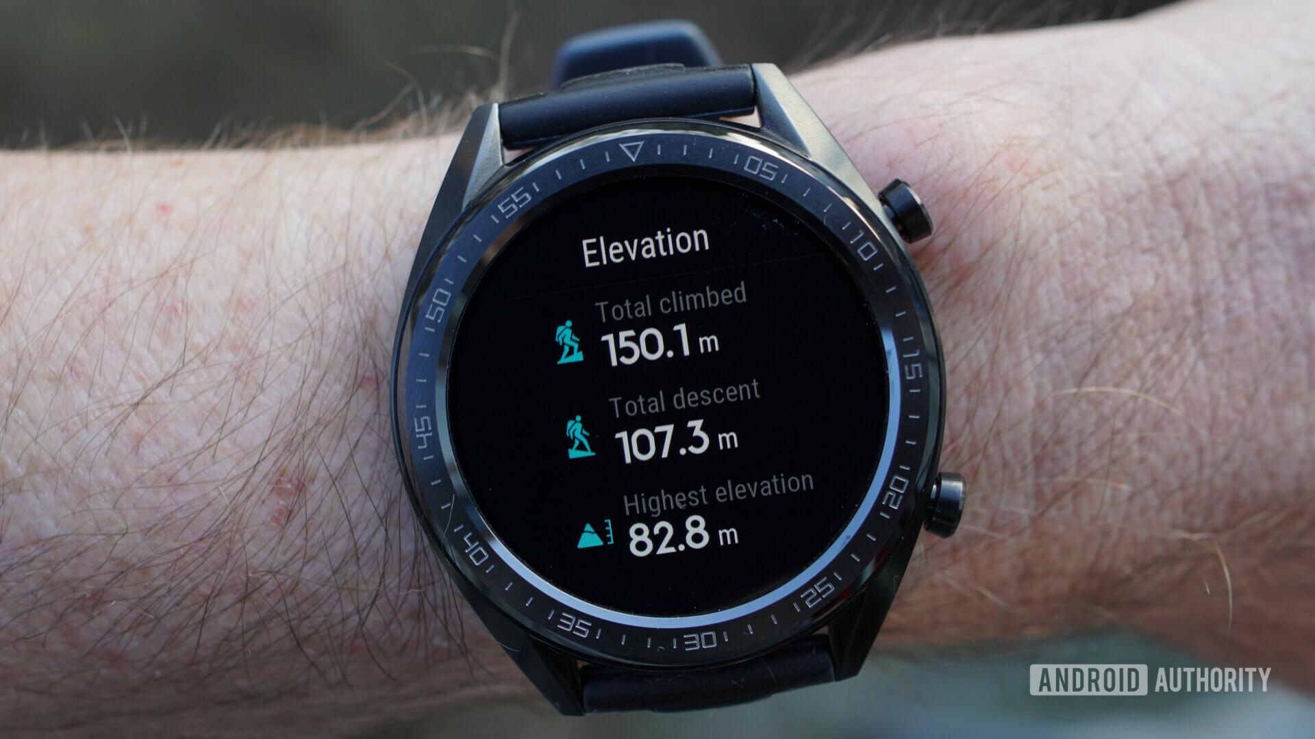 Huawei Watch GT elevation