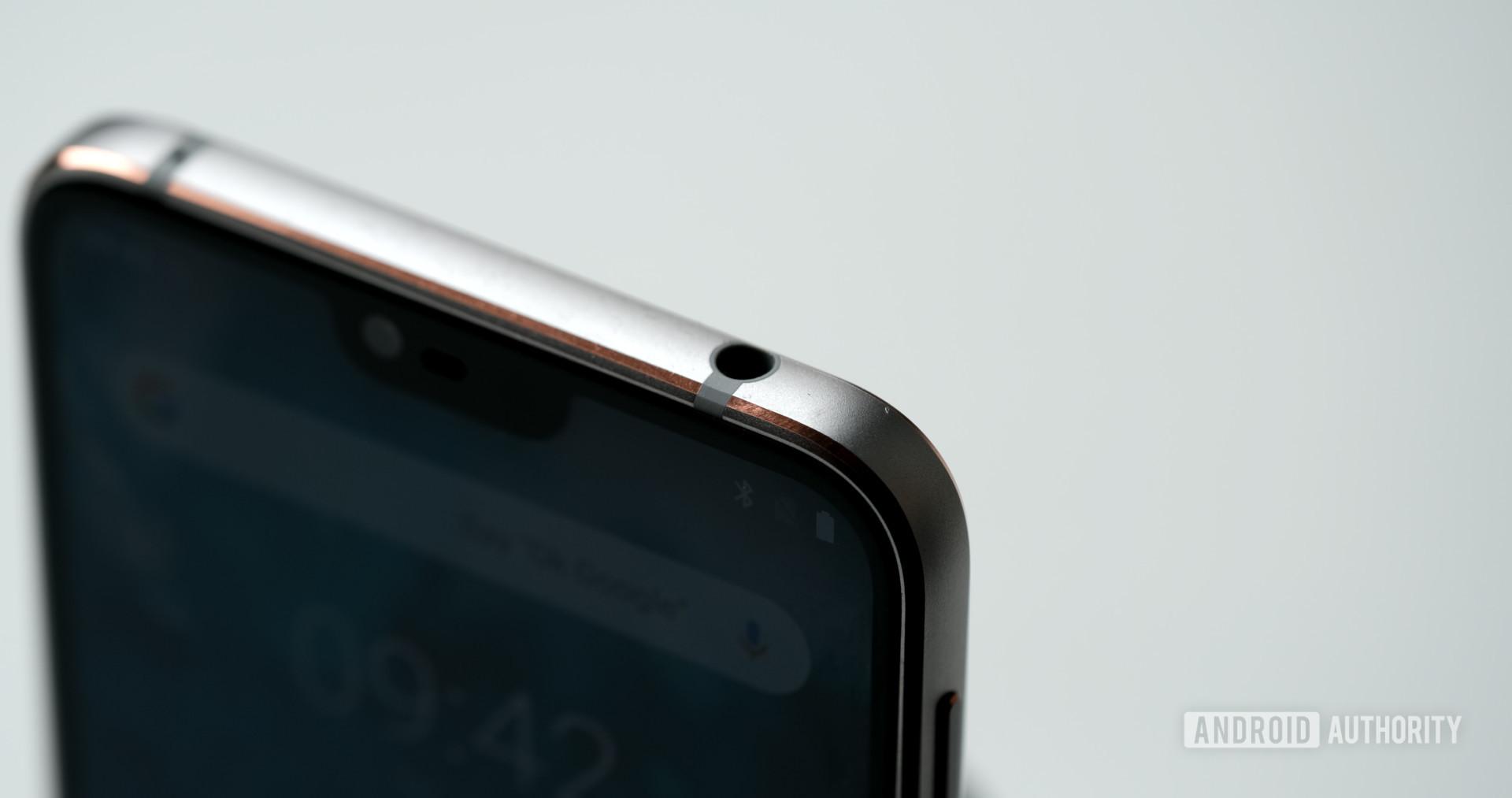 Nokia 7.1 headphone jack
