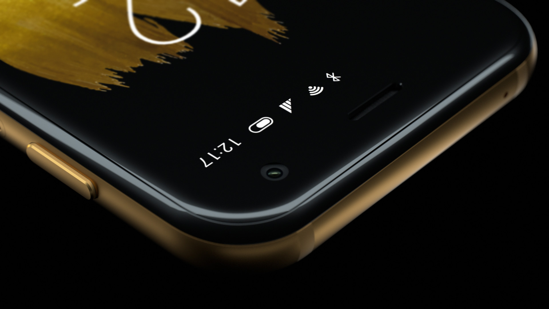 A promotional image of the 2018 Verizon Palm phone.