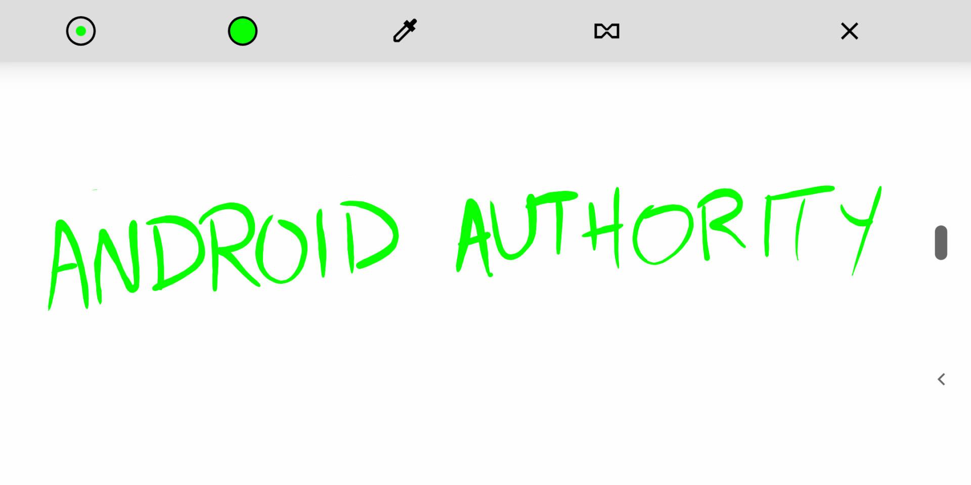 Android 9 Eazster Egg screenshot